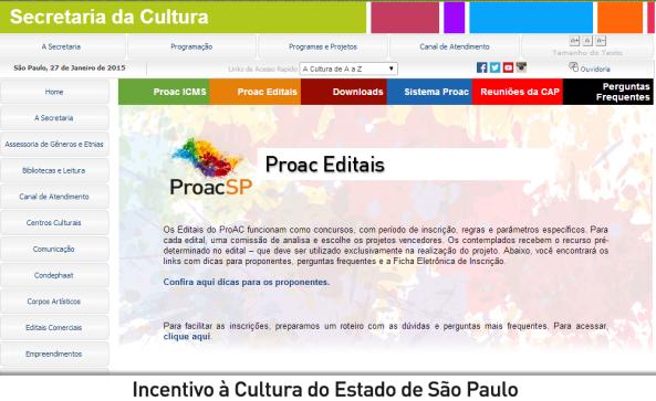 proac editais