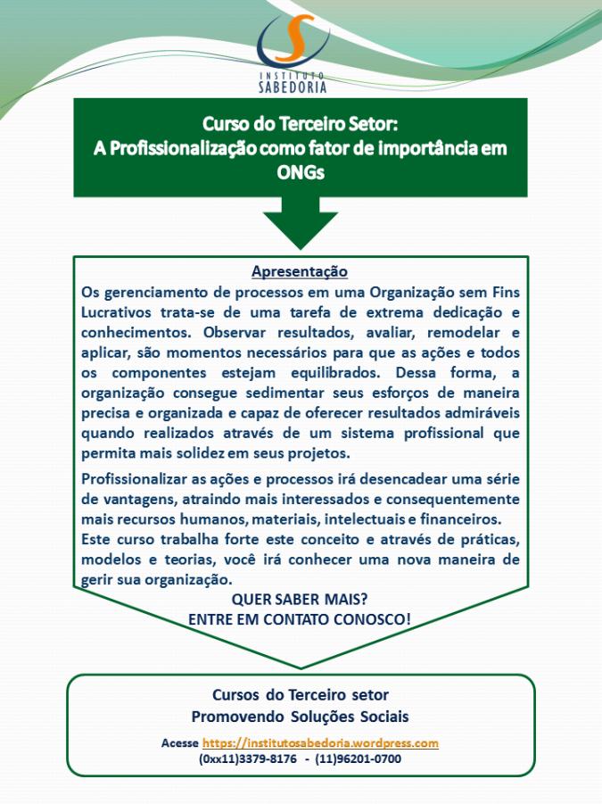 Matriz Verde_Curso Profissionalização