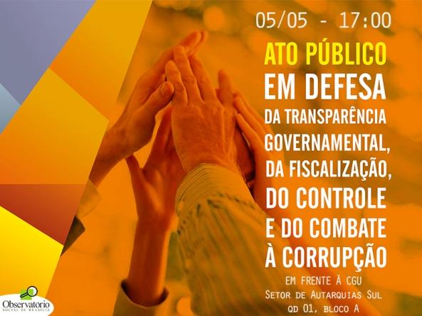 ato contra corrupção